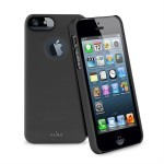 PURO Soft Cover [Black], Etui dla iPhone 5 + folia