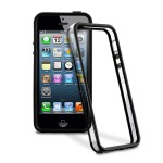 PURO Bumper Frame [Black], Etui iPhone 5